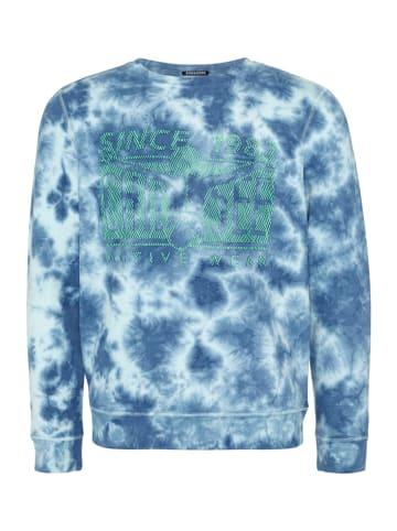 """Chiemsee Bluza """"Sal Rei"""" w kolorze niebiesko-zielonym"""