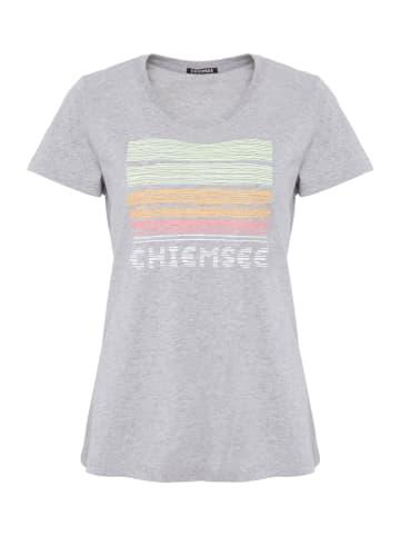 "Chiemsee Koszulka ""Capelin"" w kolorze szarym"