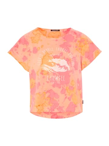 """Chiemsee Koszulka """"Boga"""" w kolorze pomarańczowo-jasnoróżowym"""