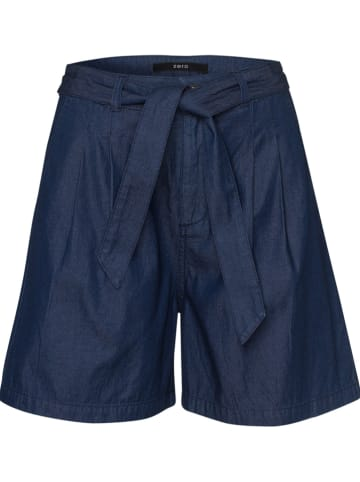 Zero Szorty dżinsowe w kolorze granatowym