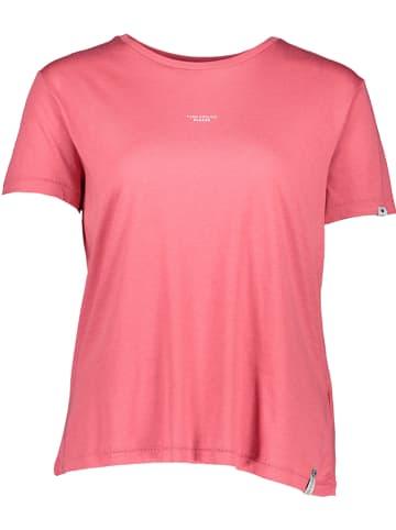 """Khujo Koszulka """"Banani"""" w kolorze różowym"""