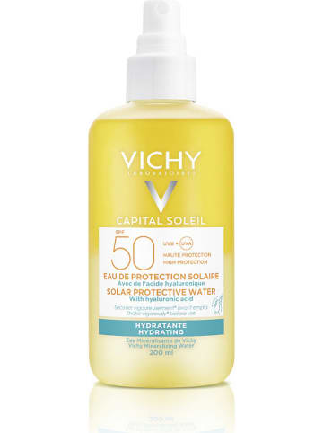 "Vichy Gezichtszonnespray ""Capital Soleil"" - SPF 50, 200 ml"