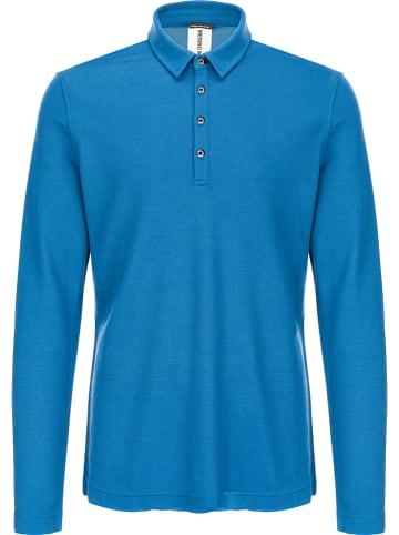 Super.natural Koszulka polo w kolorze niebieskim