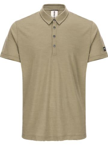 Super.natural Koszulka polo w kolorze khaki