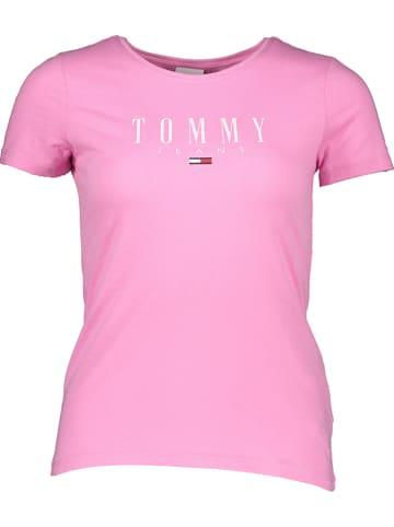 TOMMY JEANS Koszulka w kolorze jasnoróżowym