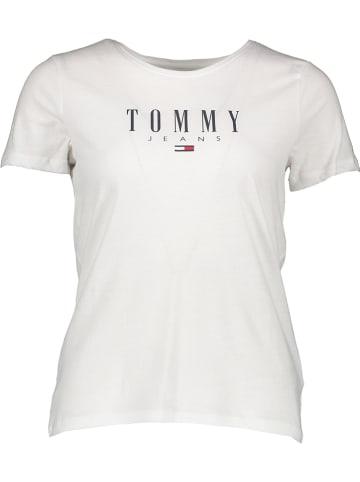 TOMMY JEANS Koszulka w kolorze białym