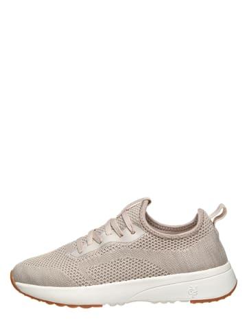 "Marc O'Polo Shoes Sneakersy ""Loleta 2D"" w kolorze beżowym"