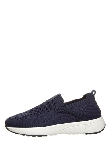 """Marc O'Polo Shoes Instappers """"Loleta 3D"""" donkerblauw"""