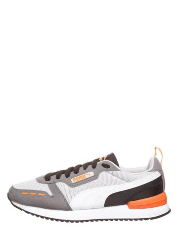 """Puma Sneakers """"R78"""" in Weiß/ Grau"""