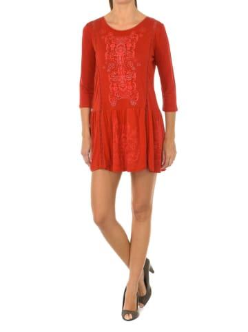 Desigual Sukienka w kolorze czerwonym