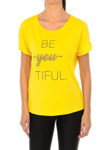 Desigual Shirt in Gelb