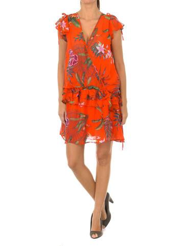 Desigual Sukienka w kolorze pomarańczowym