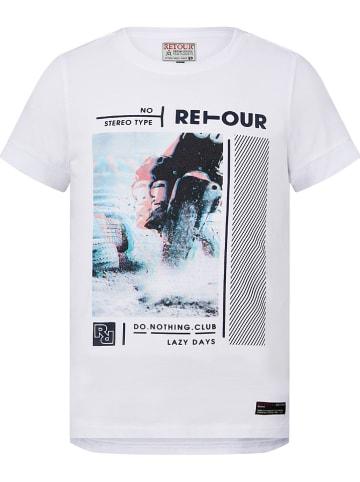 "Retour Shirt ""Flynn"" in Weiß"