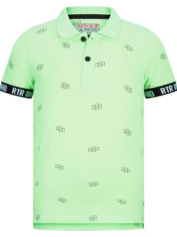 """Retour Poloshirt """"Gustav"""" groen"""
