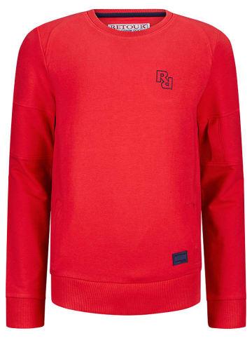 """Retour Sweatshirt """"Ben"""" in Rot"""