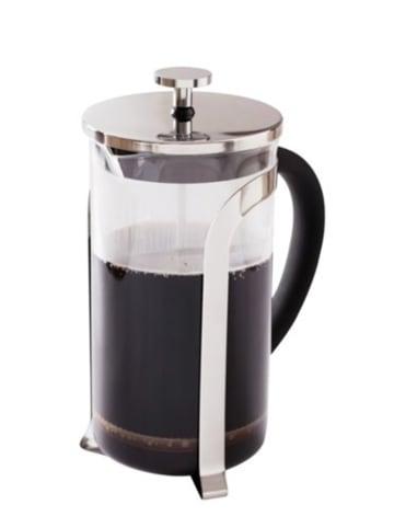 DUKA Koffiebereider zilverkleurig - 1 l