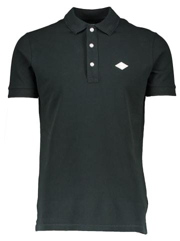 Replay Poloshirt donkergroen