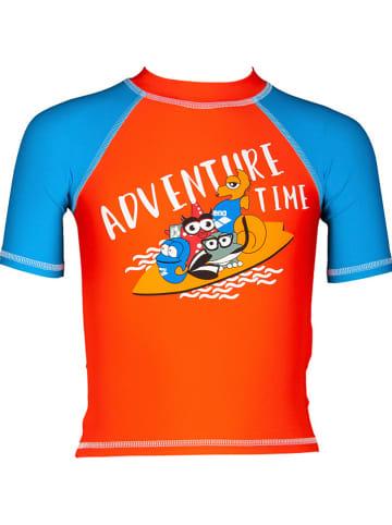 """Arena Koszulka kąpielowa """"AWT"""" w kolorze pomarańczowym"""