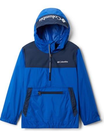 "Columbia Windbreaker ""Bloomingport"" in Blau"