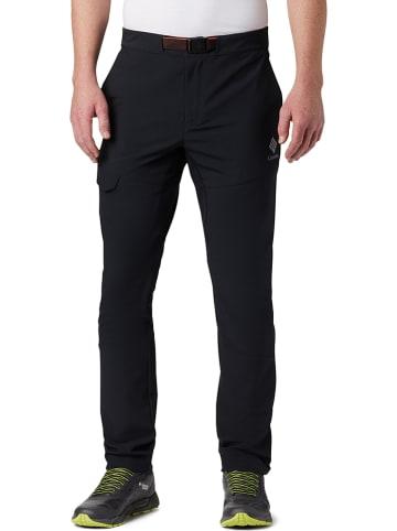 """Columbia Spodnie trekkingowe """"Maxtrail"""" w kolorze czarnym"""