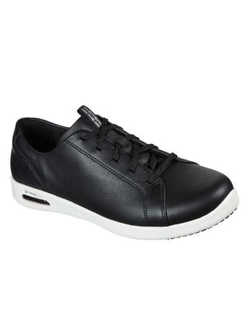 """Skechers Skórzane sneakersy """"Go Step Air - Fun Filled"""" w kolorze czarnym"""
