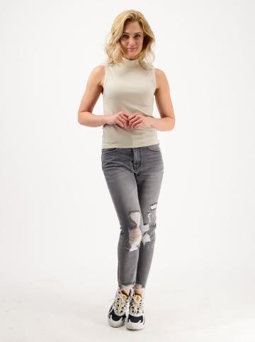 """RAIZZED® Spijkerbroek """"Oceans"""" - mom fit - grijs"""
