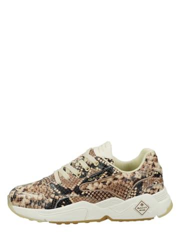 """GANT Footwear Leren sneakers """"Nicewill"""" beige"""