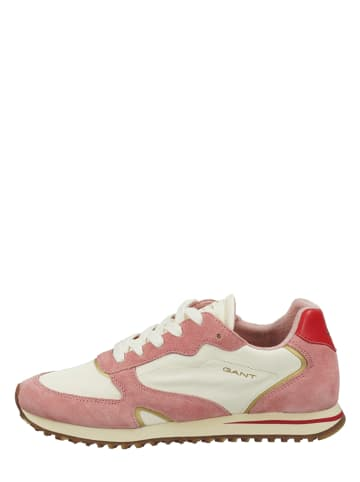 "GANT Footwear Leren sneakers ""Beja"" roze/crème"