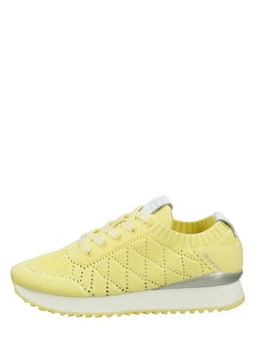"""GANT Footwear Sneakersy """"Bevinda"""" w kolorze żółtym"""