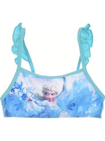 """Disney Frozen Bikini """"Frozen"""" w kolorze turkusowym"""