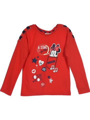 """Disney Minnie Mouse Koszulka """"Minnie Mouse"""" w kolorze czerwonym"""