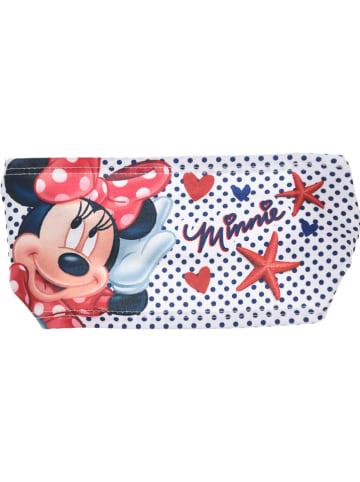 """Disney Minnie Mouse Opaska """"Minnie Mouse"""" w kolorze białym ze wzorem do włosów"""