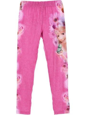 """Disney Princess Leggings """"Prinzessin"""" in Pink/ Bunt"""