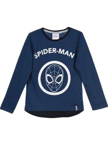 "Spiderman Koszulka ""Spider-Man"" w kolorze granatowym"