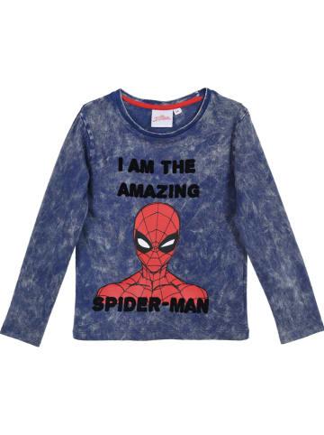 """Spiderman Longsleeve """"Spider-Mann"""" blauw"""