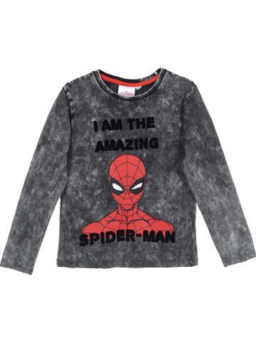 """Spiderman Longsleeve """"Spider-Man"""" in Grau"""