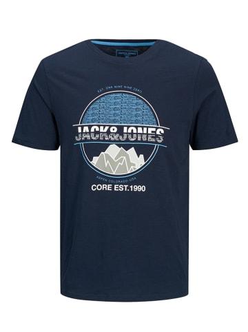 """Jack & Jones Koszulka """"Chris-Gibs"""" w kolorze granatowym"""
