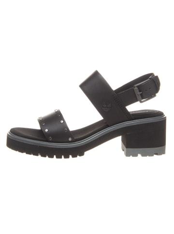 """Timberland Leren sandalen """"Violet Marsh"""" zwart - wijdte W"""