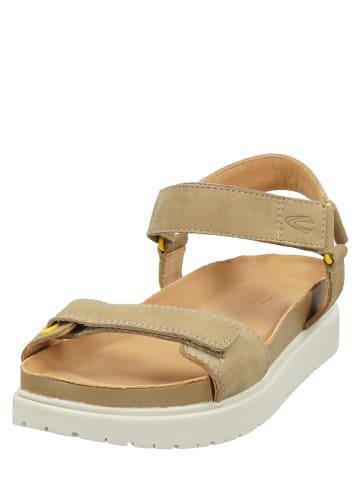 """Camel Active Skórzane sandały """"Pad"""" w kolorze beżowym"""