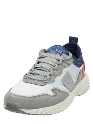 """Camel Active Sneakersy """"Fly River"""" w kolorze biało-niebiesko-szarym"""
