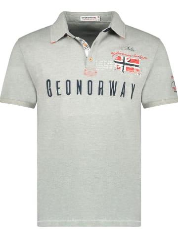 "Geographical Norway Poloshirt ""Kason"" in Grau"