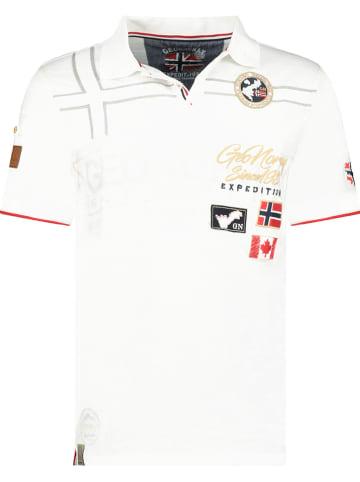"Geographical Norway Poloshirt ""Karado"" in Weiß"