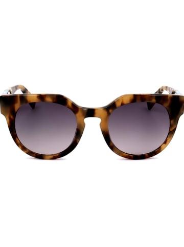 Furla Damen-Sonnenbrille in Braun/ Lila