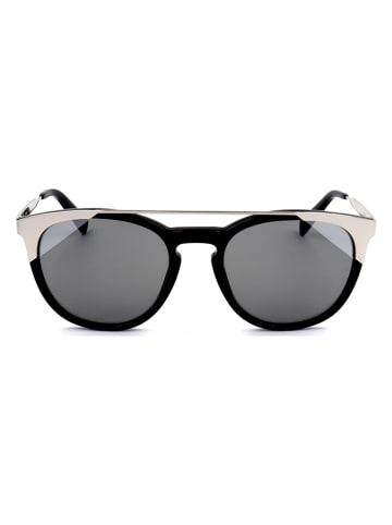 Furla Damen-Sonnenbrille in Schwarz-Silber/ Grau