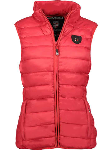 """Geographical Norway Bodywarmer """"Volantis"""" rood"""