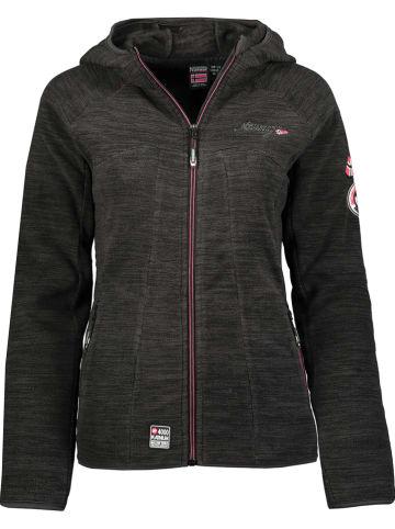 "Geographical Norway Fleece vest ""Talwe"" antraciet"