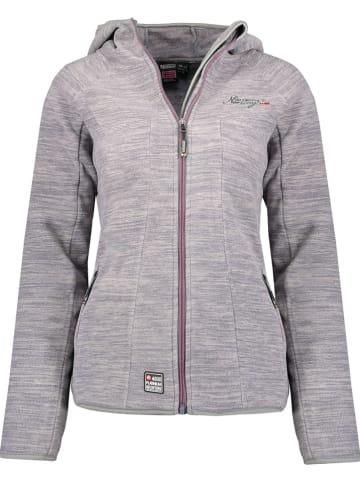 """Geographical Norway Fleece vest """"Talwe"""" grijs"""