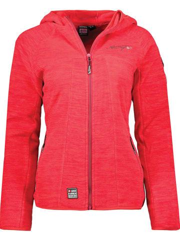 """Geographical Norway Fleece vest """"Talwe"""" rood"""