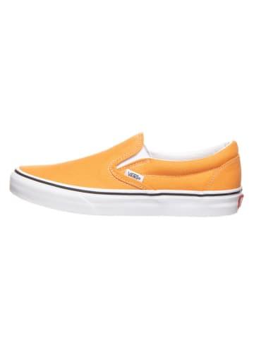 """Vans Slippersy """"Classic Slip-On"""" w kolorze pomarańczowym"""
