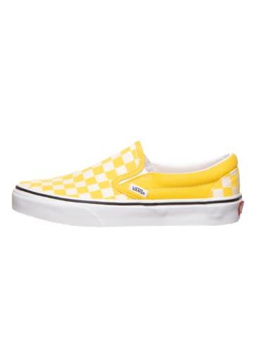 """Vans Instappers """"Classic Slip-On"""" geel"""